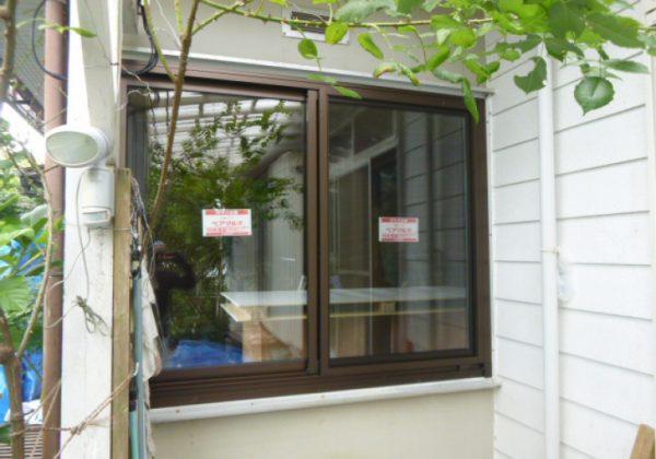 施工後 中連窓